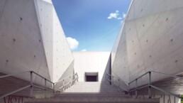 Palácio De Justiça de Gouveia 3D par Guillaume Favre