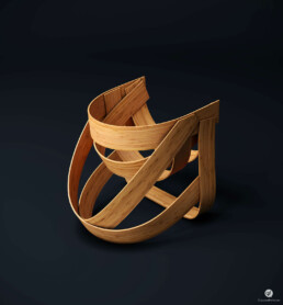 Bamboo Chair 3D