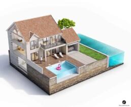 Illustration Bonifay 3D
