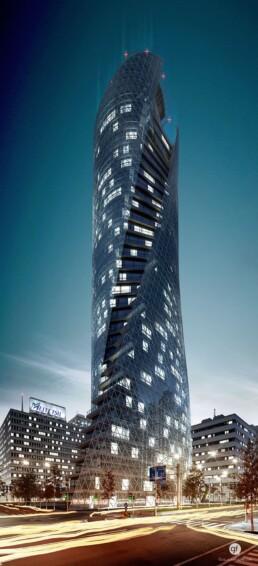 Mode Gakuen Spiral Tower 3D