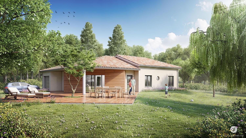 Vente maison individuelle et loi carrez for Obligation constructeur maison individuelle